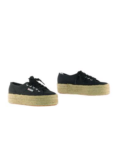 Siyah Superga Ayakkabı