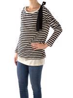 Siyah Moncler Sweatshirt
