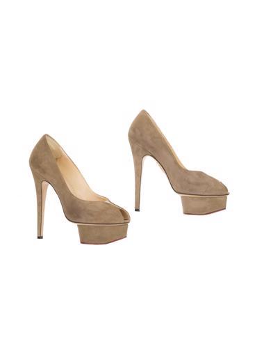Bej Charlotte Olympia Ayakkabı