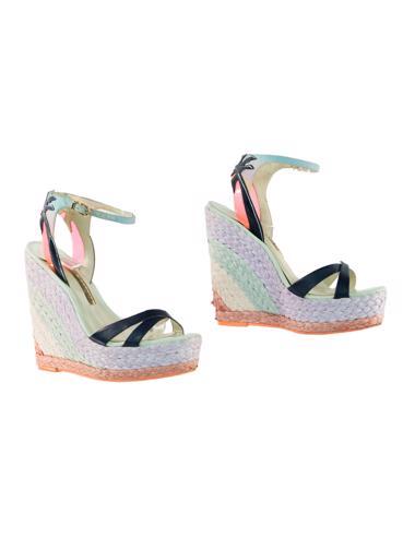 Lacivert Sophia Webster Ayakkabı