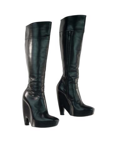 Siyah Balenciaga Çizme