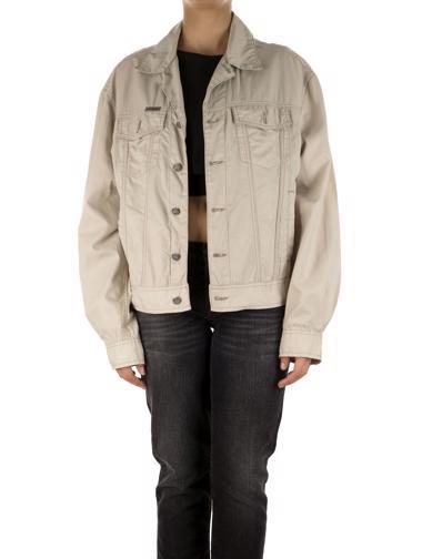 Krem Calvin Klein Jeans Jean Ceket