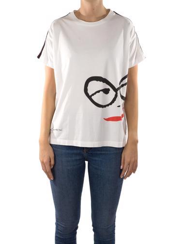 Beyaz Rosella Yardini T-Shirt