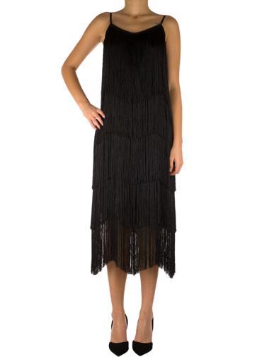 Siyah Nisse Elbise