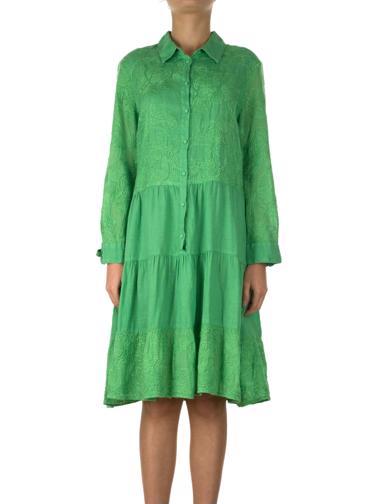 Yeşil Vakko Elbise