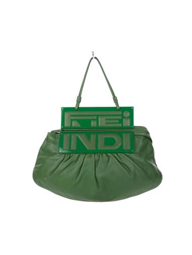 Yeşil Fendi Çanta