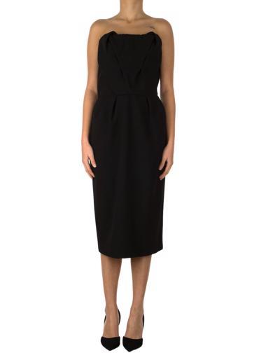 Siyah Bottega Veneta Elbise