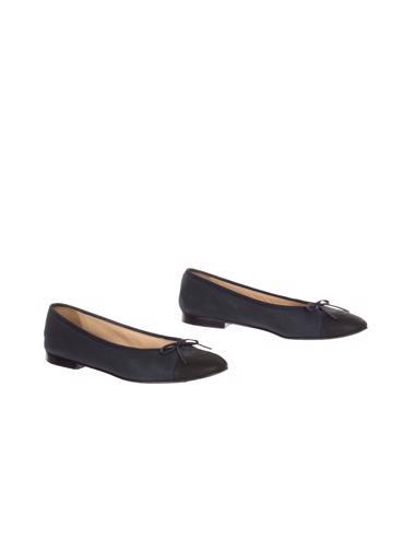 Siyah Chanel Ayakkabı