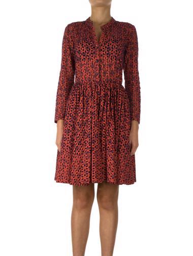 Kırmızı Maje Elbise