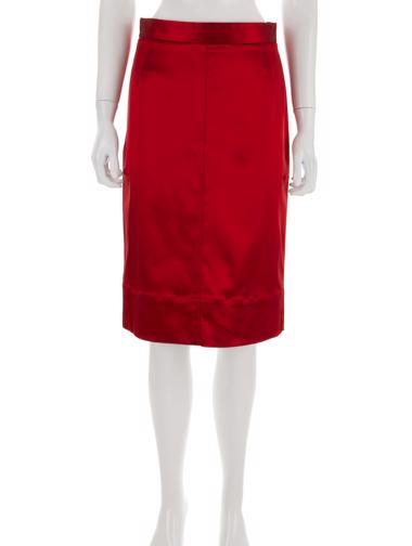 Kırmızı Dolce&Gabbana Etek