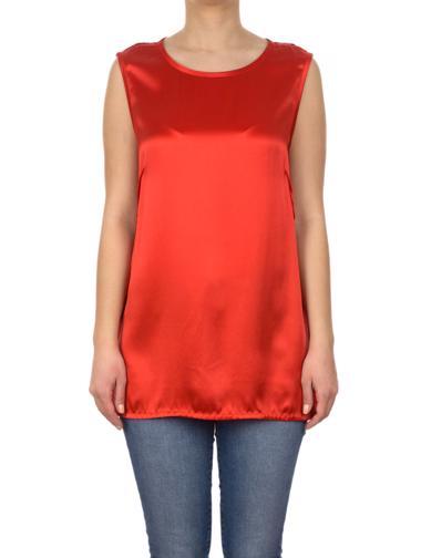 Kırmızı Apostrophe Bluz