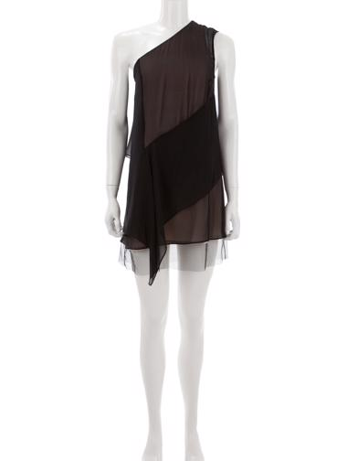 Siyah BCBG Max Azria Elbise / Tunik