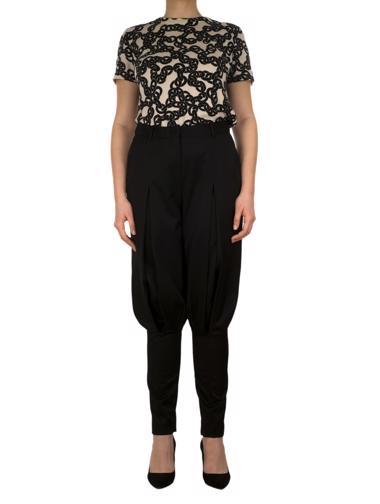 Siyah Alexander McQueen Pantolon