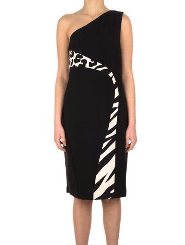 Siyah Versace Elbise