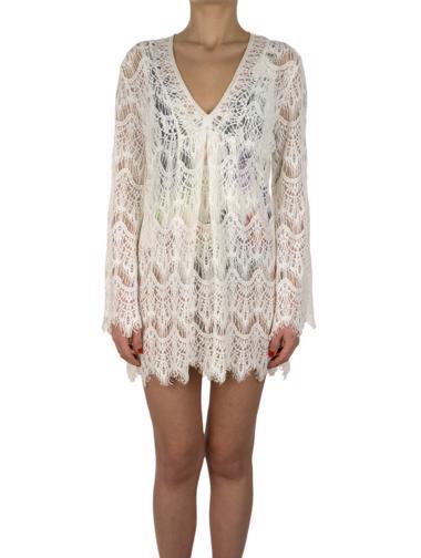 Beyaz Melissa Odabash Elbise / Tunik