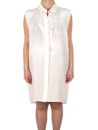 Beyaz Maxmara Sportmax Elbise