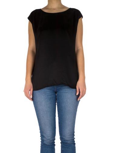 Siyah Repeat Bluz