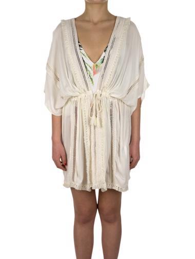 Beyaz Undiz Elbise