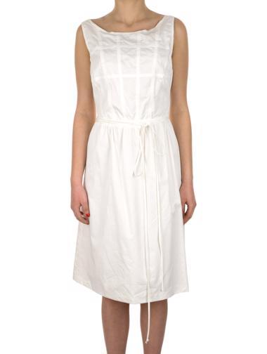 Beyaz Beymen Elbise