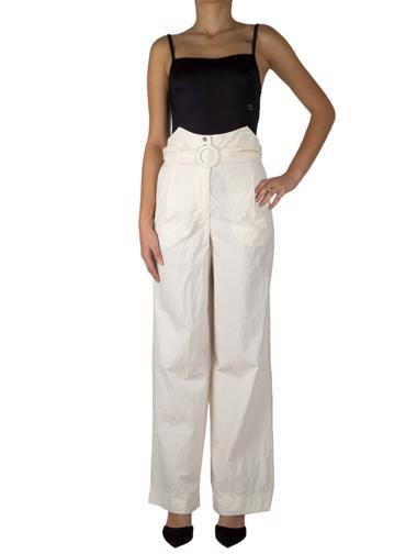 Beyaz Nanushka Pantolon