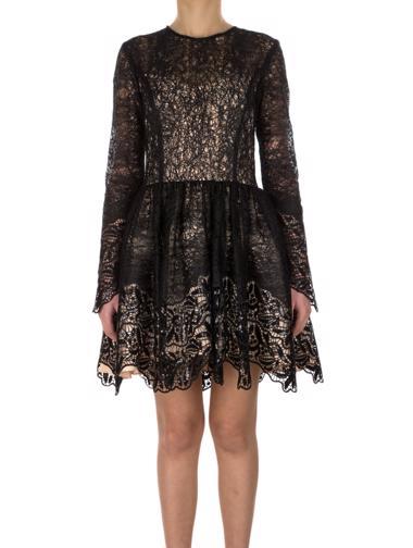 Siyah Alexis Elbise