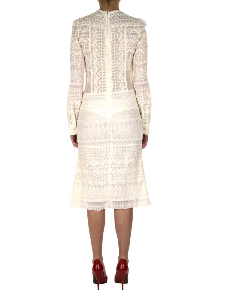 Krem Isabel Marant Im Production Elbise