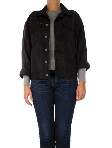 Siyah Calvin Klein Jeans Jean Ceket