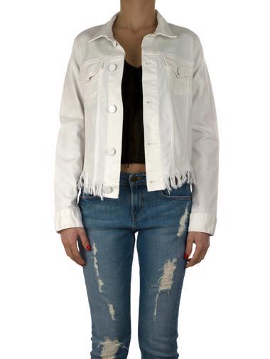 Beyaz Sandro Jean Ceket