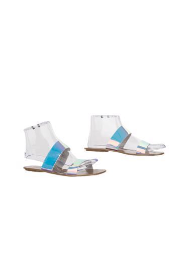 Gümüş J.Crew Ayakkabı