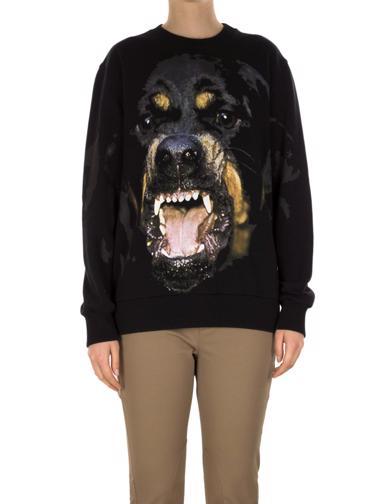Siyah Givenchy Sweatshirt