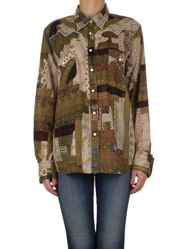 Yeşil Denim&Supply Ralph Lauren Gömlek