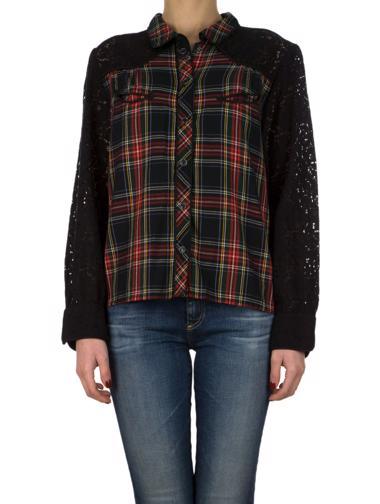 Siyah Denim&Supply Ralph Lauren Gömlek