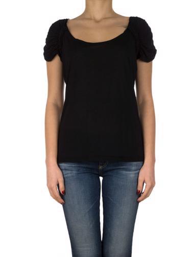 Siyah Prada Bluz