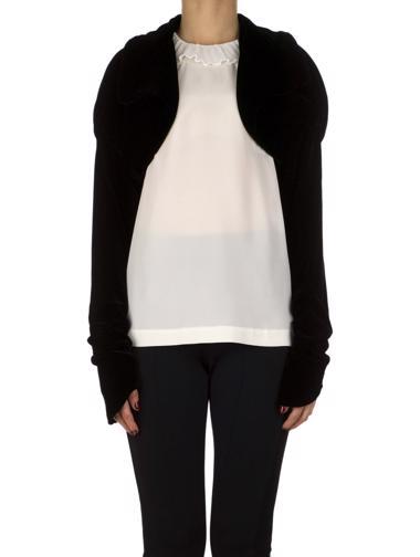 Siyah Norma Kamali Ceket