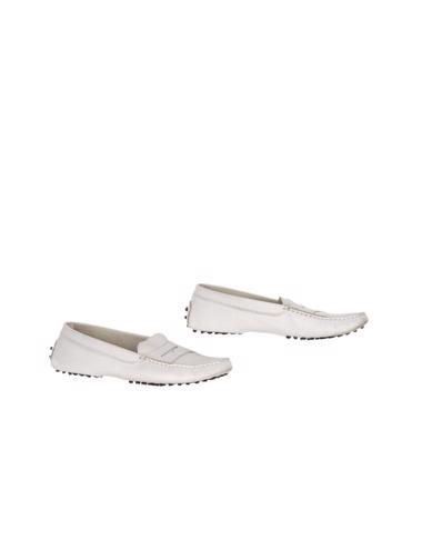 Beyaz Tod's Ayakkabı