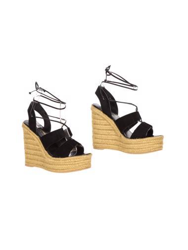 Siyah Yves Saint Laurent Ayakkabı