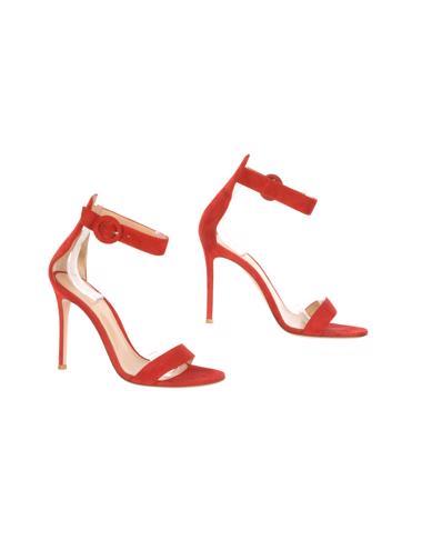 Kırmızı Gianvito Rossi Ayakkabı