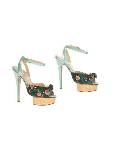 Yeşil Charlotte Olympia Ayakkabı