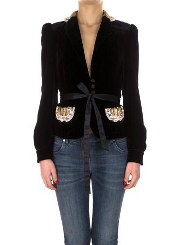 Siyah Marc Jacobs Ceket