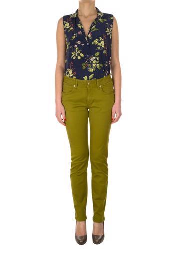 Yeşil Burberry Brit Pantolon