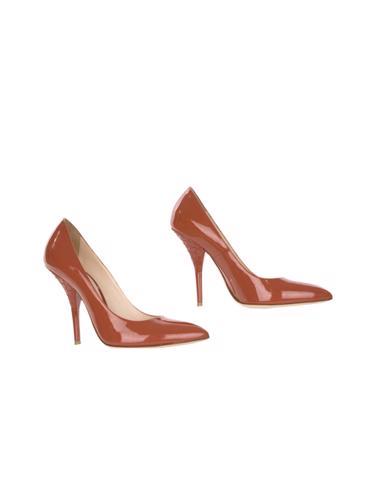 Kırmızı Bottega Veneta Ayakkabı