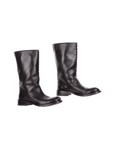 Siyah Bottega Veneta Çizme
