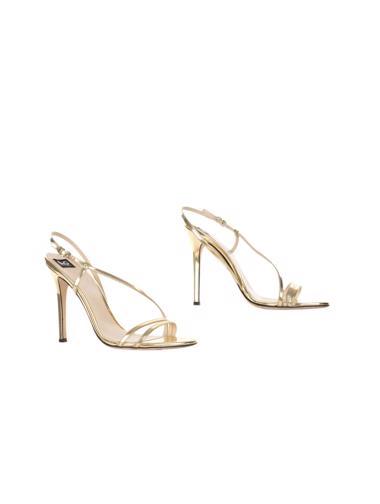 Altın Dolce&Gabbana Ayakkabı