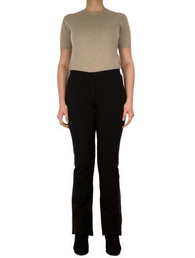 Siyah Prada Kayak Pantolonu