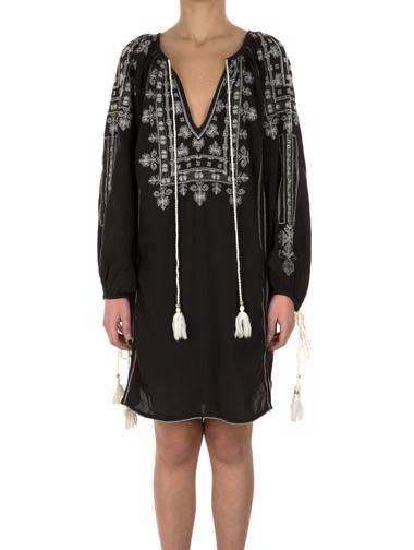 Siyah Star Mela Elbise / Tunik