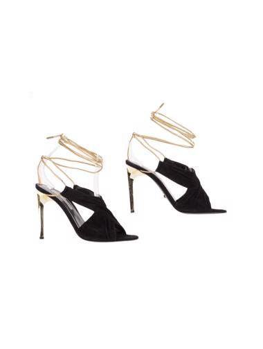 Siyah Diane von Fürstenberg Ayakkabı