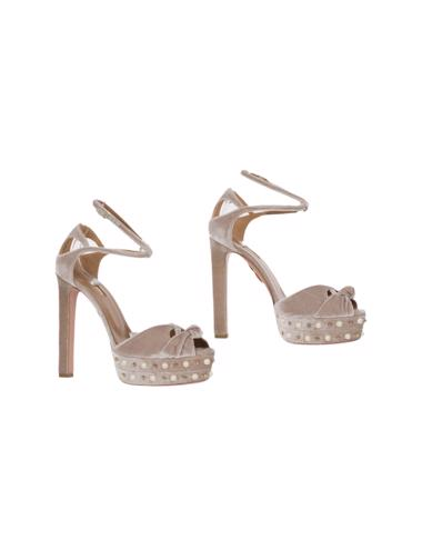 Pembe Aquazzura Ayakkabı
