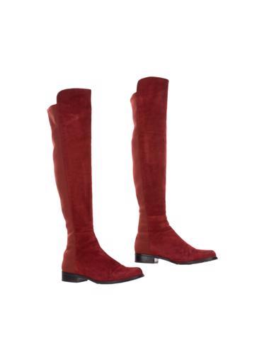 Kırmızı Stuart Weitzman Çizme